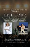 Live Tour August 27th - 29th