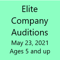 Company Auditions - May 23rd