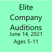 Company Auditions - June 14th (Petites / Juniors)