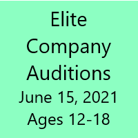 Company Auditions - June 15th (Teens / Srs)