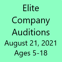 Company Auditions - August 21st