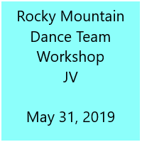 Rocky Mountain Dance Team Workshop JV