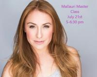 Master Class with Mallauri Esquibel- Hansen