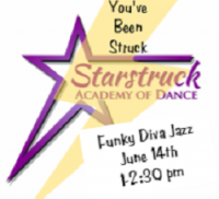 You've Been Struck Petite/Junior Workshop - Funky Diva Jazz June 14th