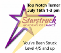 You've Been Struck Workshop - Top Notch Turner Level 4/5 and up