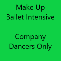 Make Up Ballet Intensive - Company Dancers Only