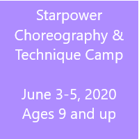 Starpower Choreography & Technique Camp